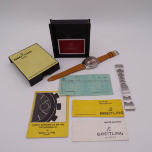breitling chronomatic bullhead vintage 8301