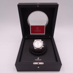 hublot classic fusion chronograph titanium 3580