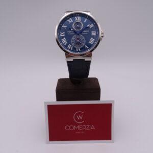 ulysse nardin maxi marine chronometer blue 5020