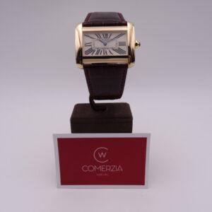 Cartier Tank Divan Gold 7210