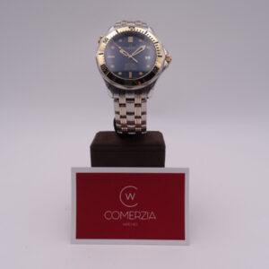 Omega Seamaster Diver Steel Gold Blue 8233