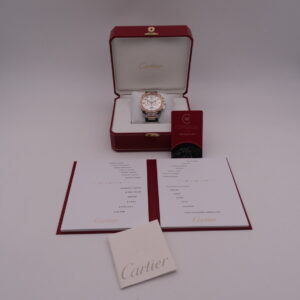 Cartier Calibre de Chronograph Steel