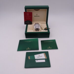 Rolex Datejust 126300 Rhodium 01520