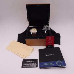 Panerai Pam Luminor Detro Left Handed Limited Edition 1075 01602