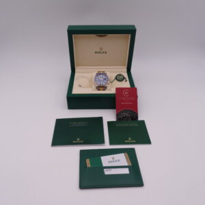 Rolex Submariner Date 116613LB Steel Gold Blue 02058
