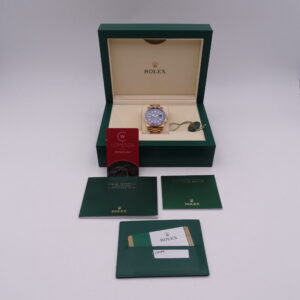 Rolex Submariner Date 116618LB Gold Blue 02087